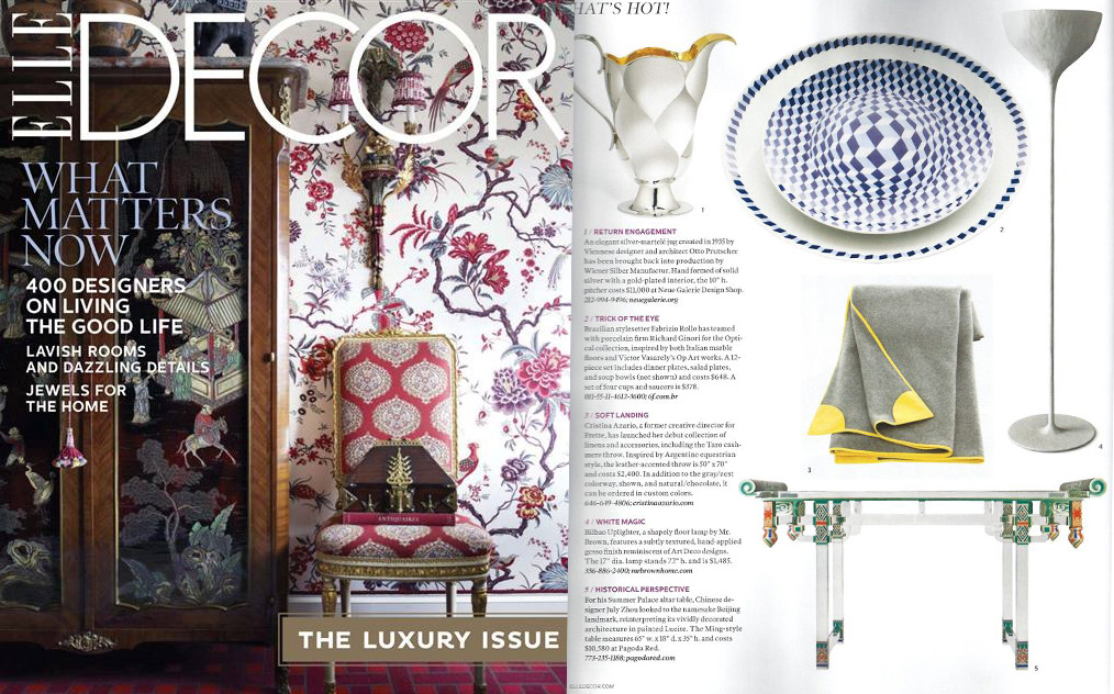 Elle decor november 2012