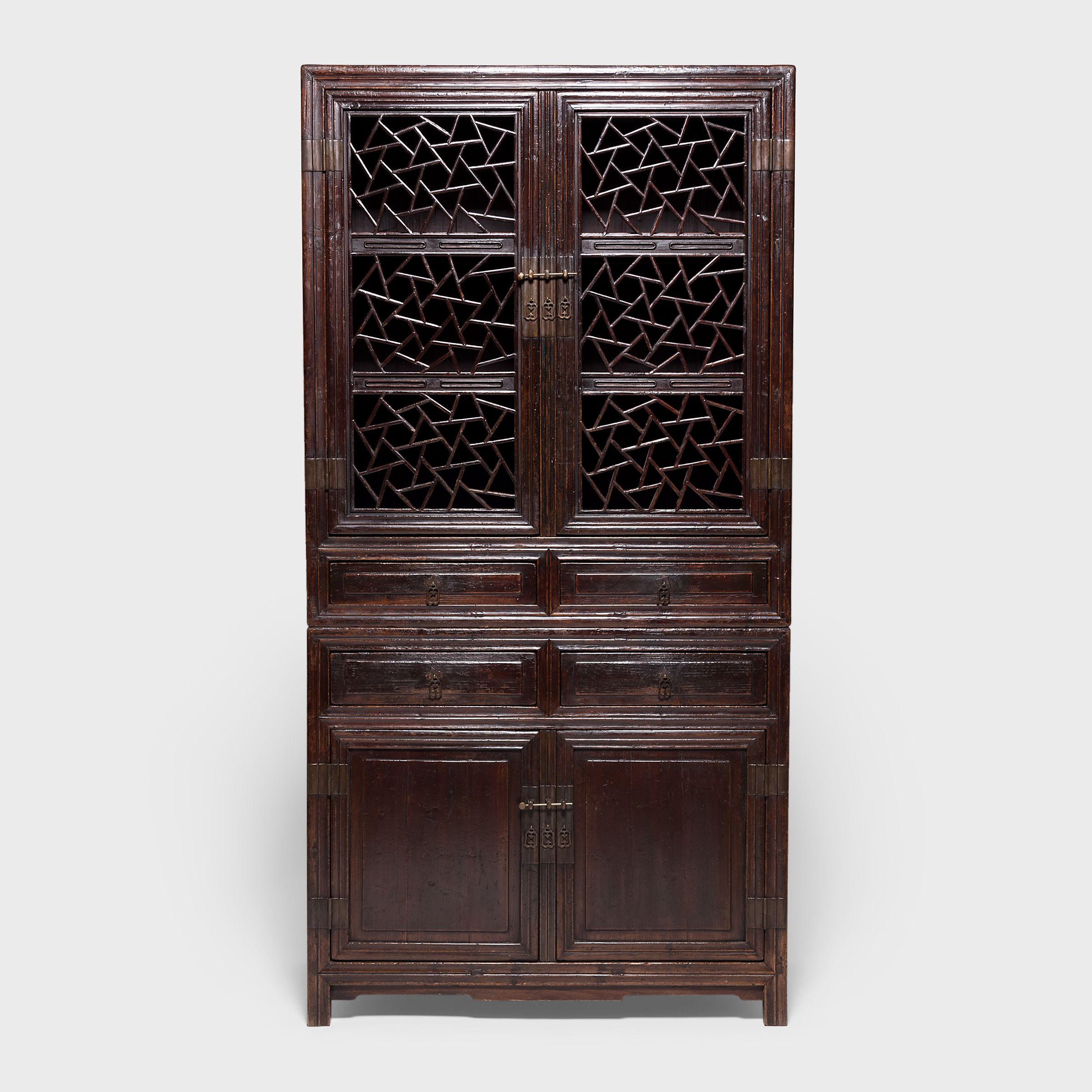 Chinese Tall Cabinets, Asian Wood Cabinets, Chinese Antique