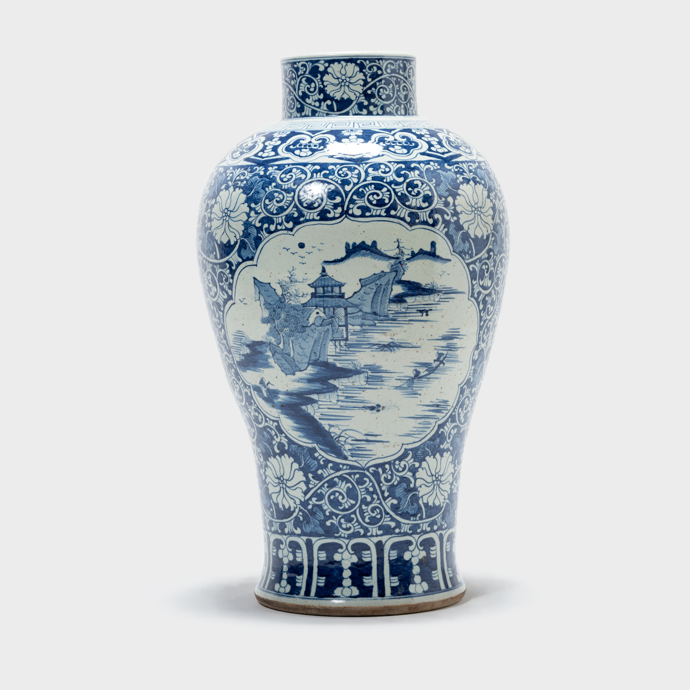 Blue and White Distant Beauty Vase - Browse or Buy at ...